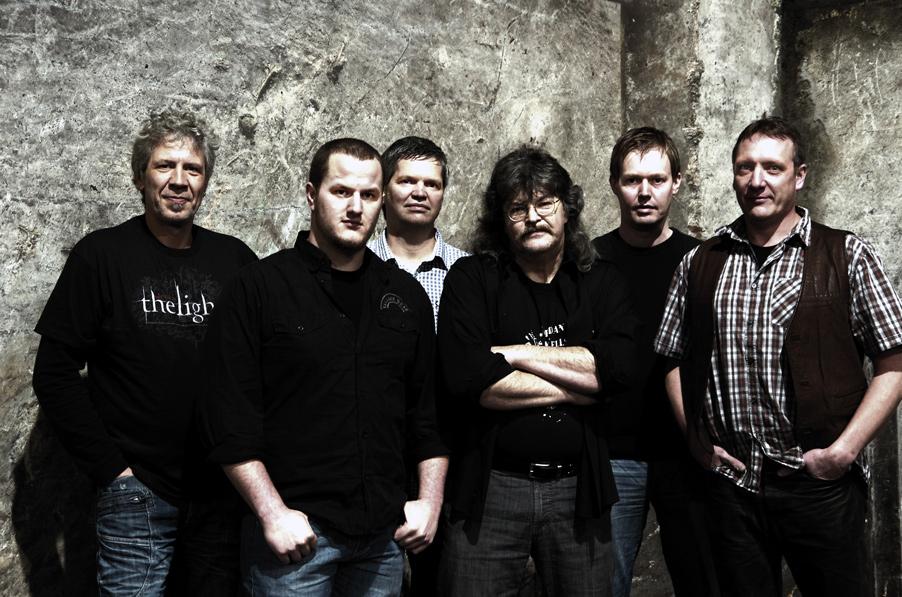Gruppenfoto der Jordan Wells Band